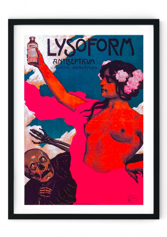 Lysoforn Retro Giclee Poster