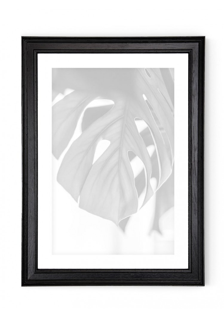 Black Groove Wooden Picture Frame 30mm -  A2 / A3 / A4 / 14x20cm