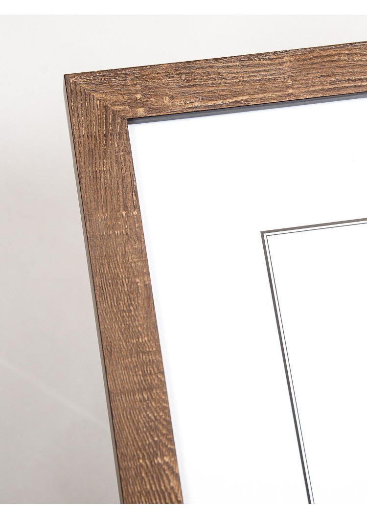 Brown Wooden Picture Frame 22mm  - A2 / A3 / A4 / 14x20cm