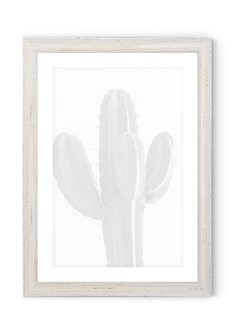 Distressed White Picture Wooden Frame 25mm  - A2 / A3 / A4 / 14x20cm