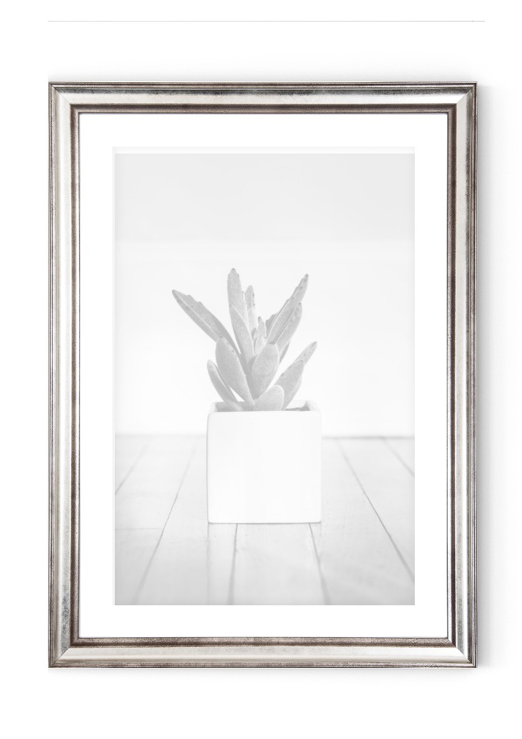 Silver Wooden Picture Frame 30mm  - A2 / A3 / A4 / 14x20cm