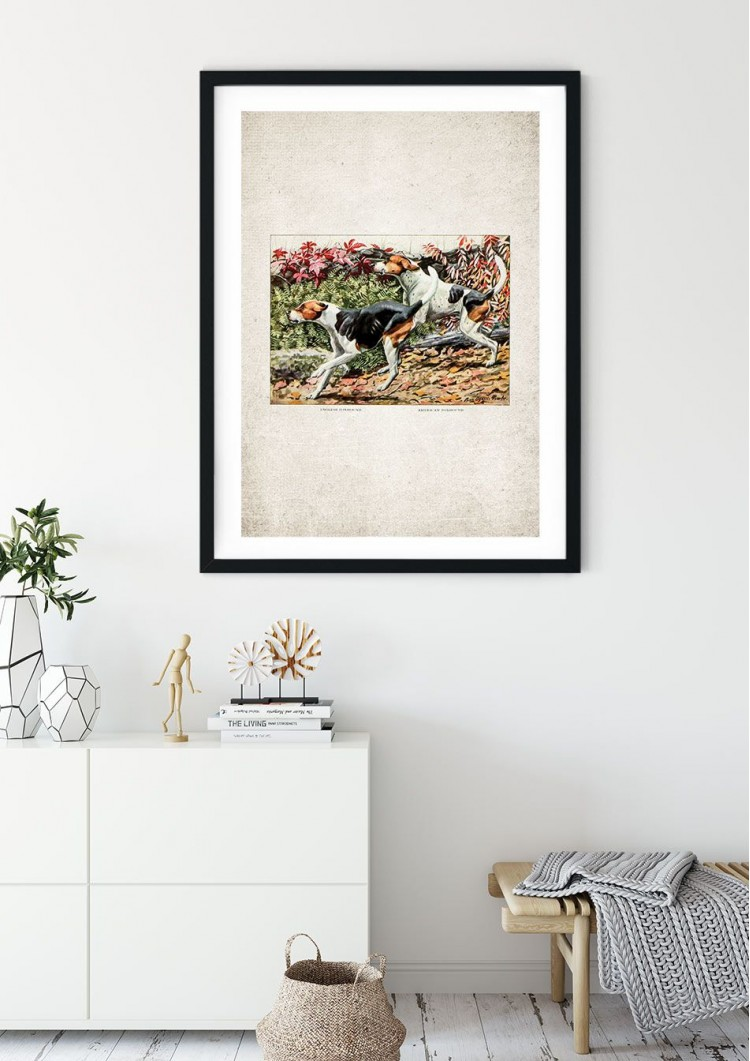 Foxhounds Giclee Print