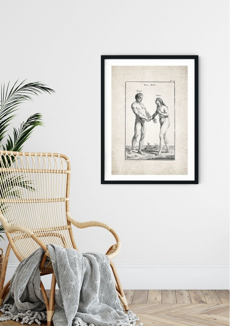 Homme And Femme Giclee Print