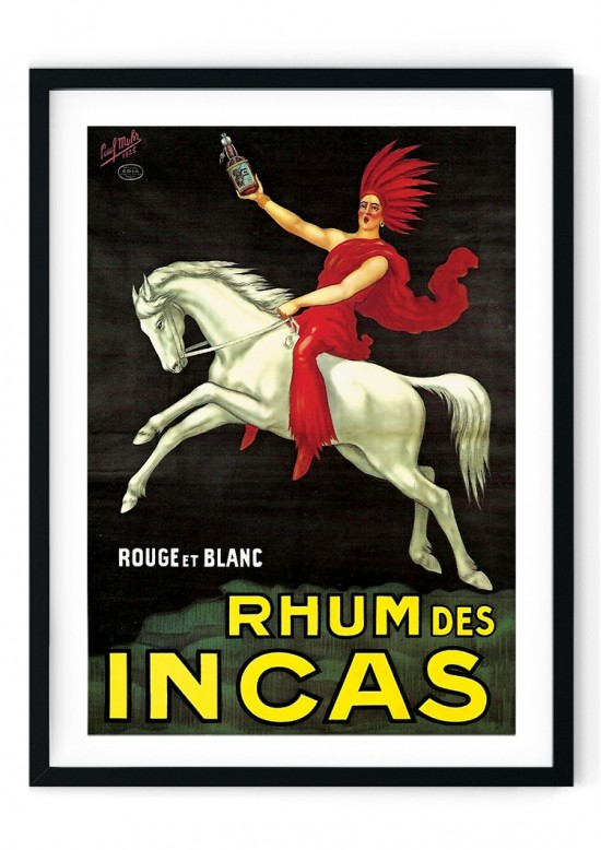 Rum Alcoholic Drink Retro Giclee Poster